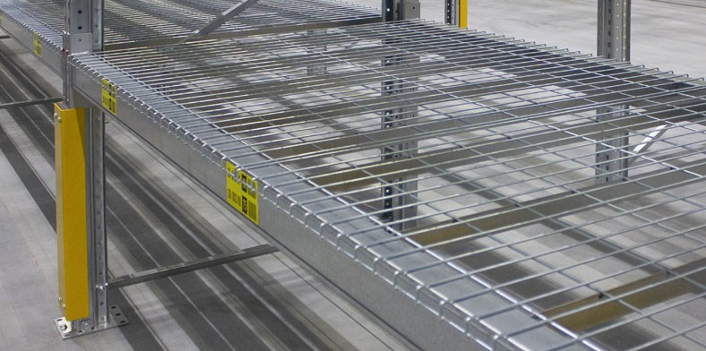 Wiremesh Decking & Shelving